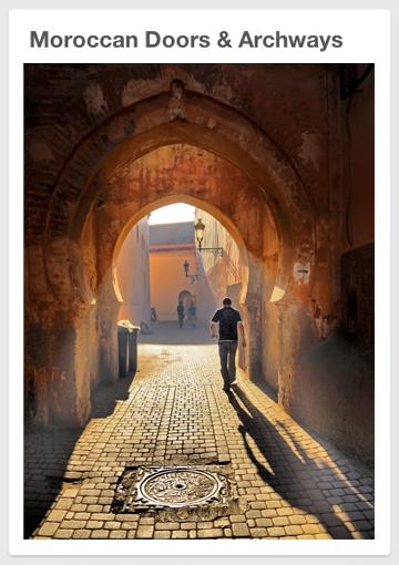 Moroccan Doors & Archways
