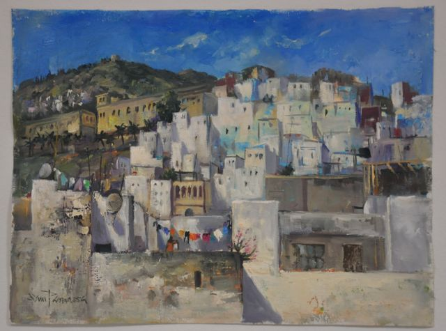Painting of Tetouan by Sam Paonessa