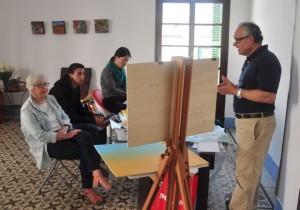 Sam Paonessa teaching at GOA