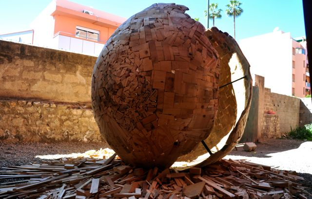 wood sculpture at la Blasa MB5 2014