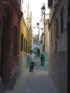 Colorful Medina Street_awidman