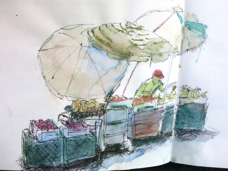 Fruit Seller Sketch_awidman
