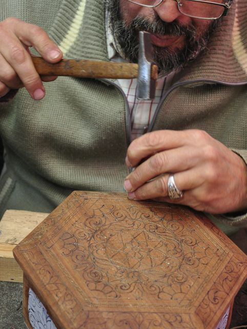 Art tour - Filigree craftsman