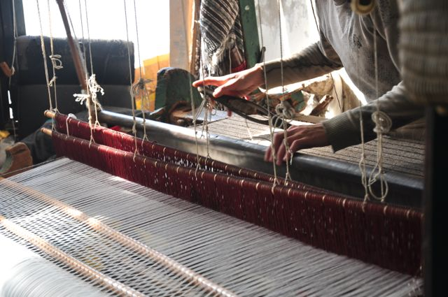 Artisans of Tetouan Tour - weavers loom