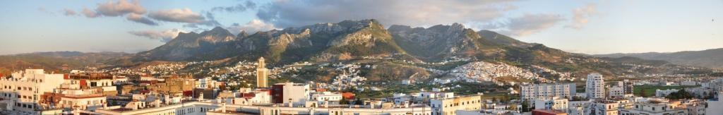 Panoramic Image of Tetouan