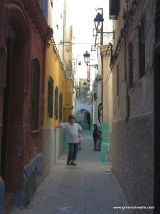Tetouan – colorful medina street – Ashley Widman