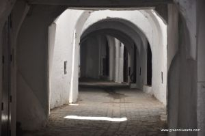 Tetouan – medina arched street