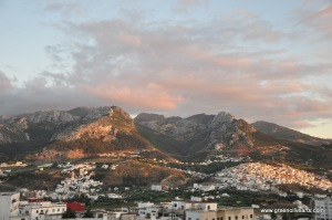 Tetouan – ever present mountain view