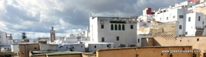 Tetouan – medina above the Tannery