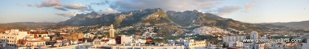 Tetouan - Panoramic view