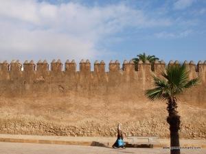 Tetouan – medina wall