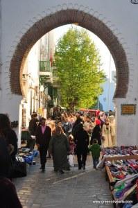 """Tetouan – medina gate """"Ruah"""""""