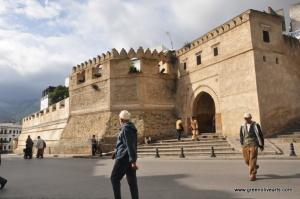 """Tetouan – medina gate """"Okla"""""""