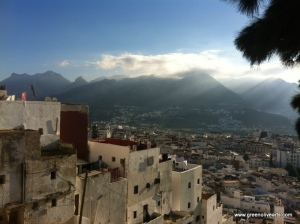 Tetouan – above the medina