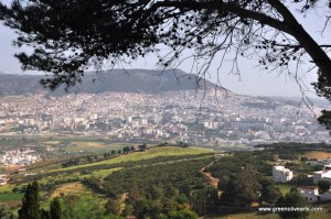 Tetouan – from across the valley