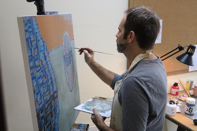 Jeff Olson Painting