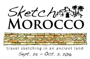 Sketch Morocco tagline